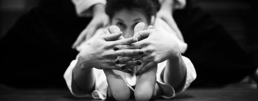 Etirements en Aikido